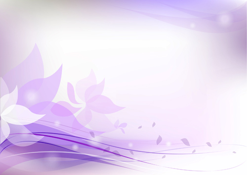 Purple Floral Background Vector Art - Ai, Svg, Eps Vector Free Download