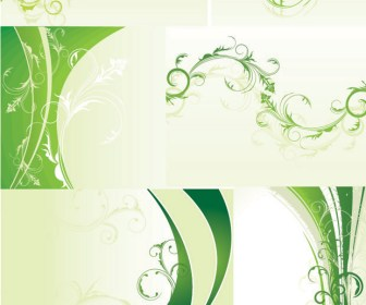 Abstract Floral Background Vector Art