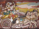 Arjuna und Krishna