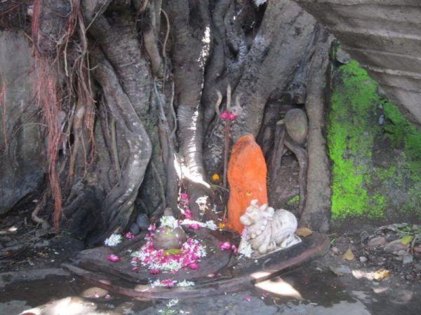 Mini Tempel in Haridwar
