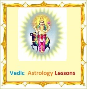 Mars in different houses in vedic astrology