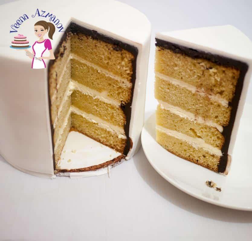 Cake Serving Chart Guide - Popular Tier Combinations - Veena Azmanov