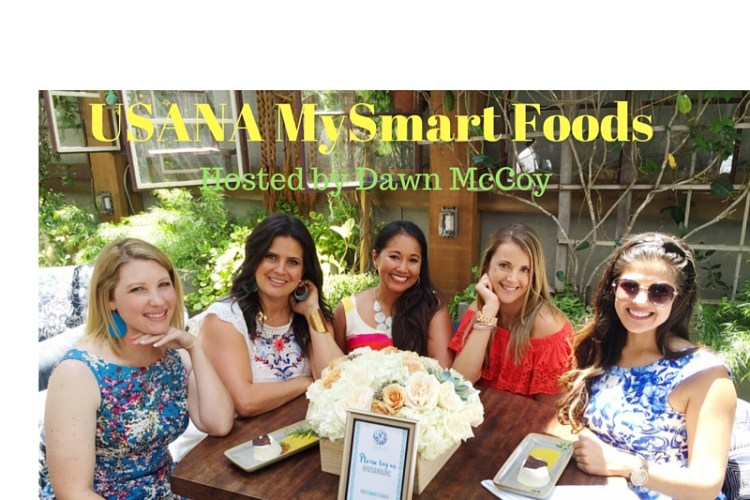 Usana's MySmart Foods Event Hosted by Dawn McCoy