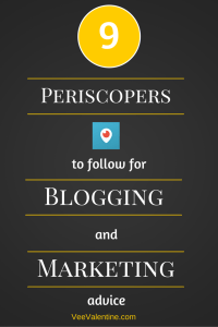 9 Periscopers to follow