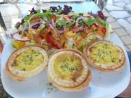 Loving Hut Quiche