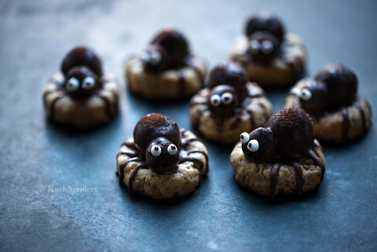 Spinnen-Kekse