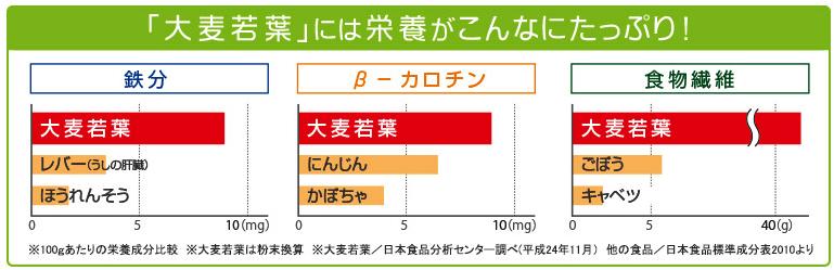 乳酸菌が入った青汁には栄養素たっぷり大麦若葉