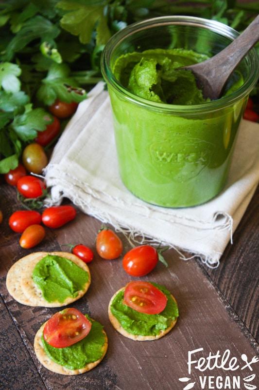 vegan parsley pesto