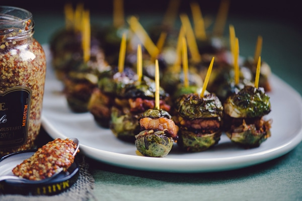 Brussels Sprouts Sliders