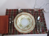 Table Setting With Placemats & Alessi Dressed Plate ...