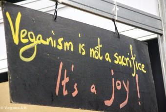 Veganism is a joy!