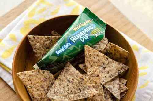 hummus snack box