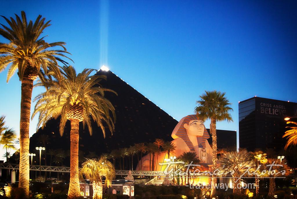 luxor casino i Las Vegas