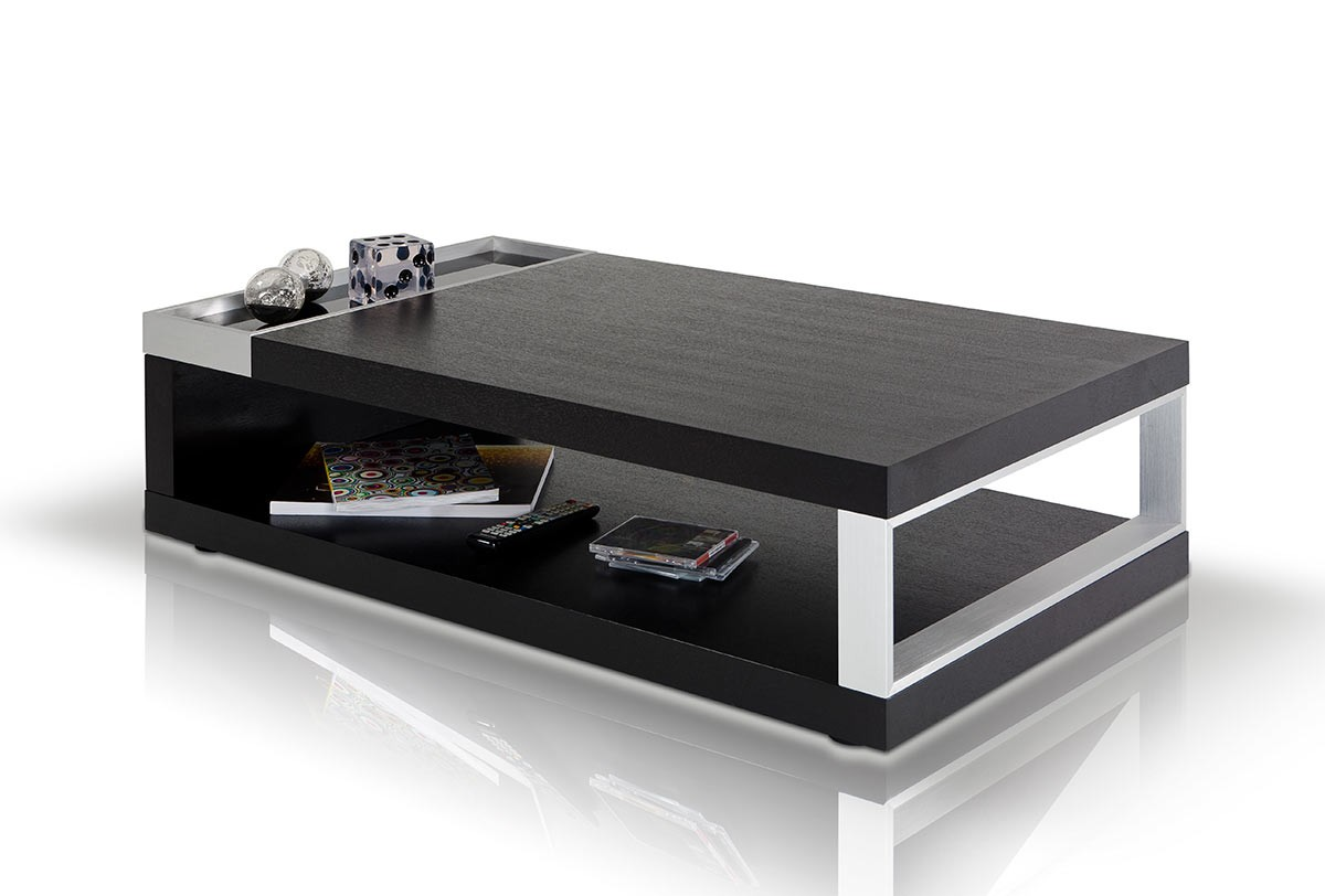 Modern Black And White Coffee Table Gemstone Modern Black Oak Coffee Table Las Vegas