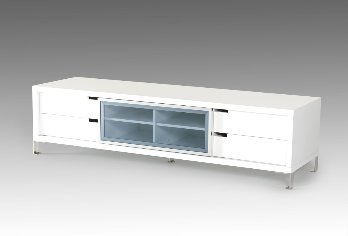 Tv Sideboard Modern Edward Modern White Tv Stand