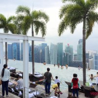 Relaxing in style at Marina Bay Sands, Singapore