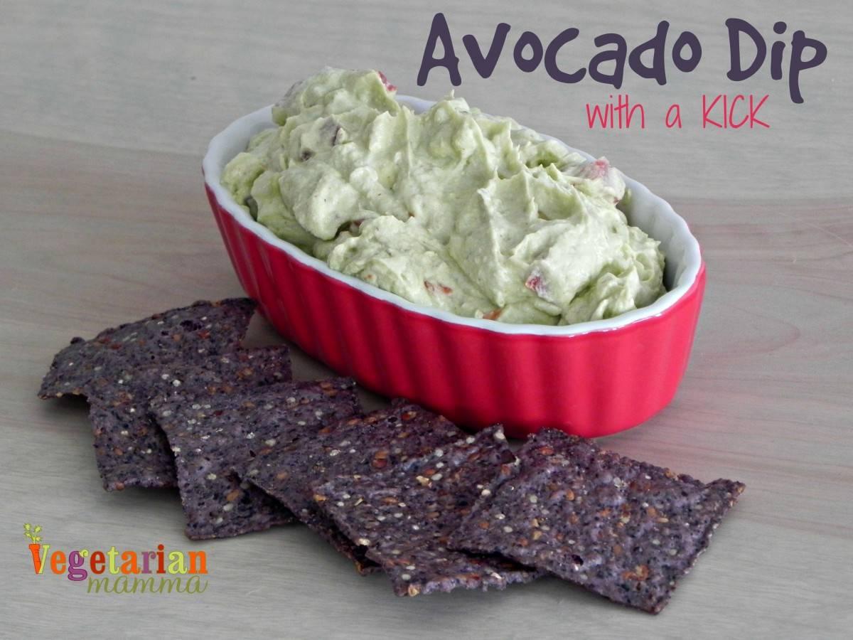 Avocado Dip with a KICK – #glutenfree #vegan