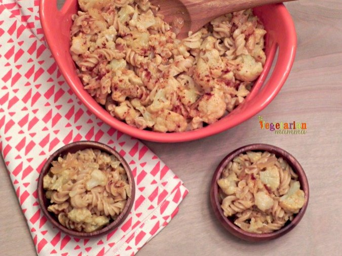 Cauliflower Pasta – Taking my love for cauliflower one step further!