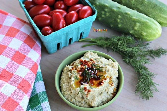 Cucumber Hummus – a refreshing twist to your classic hummus