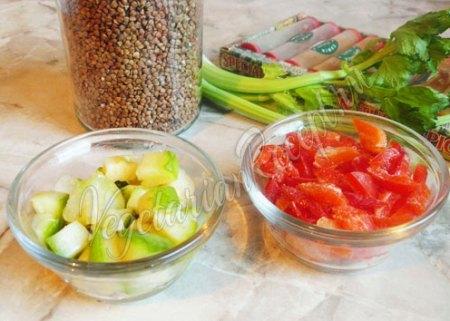 Овощи для гречки с овощами