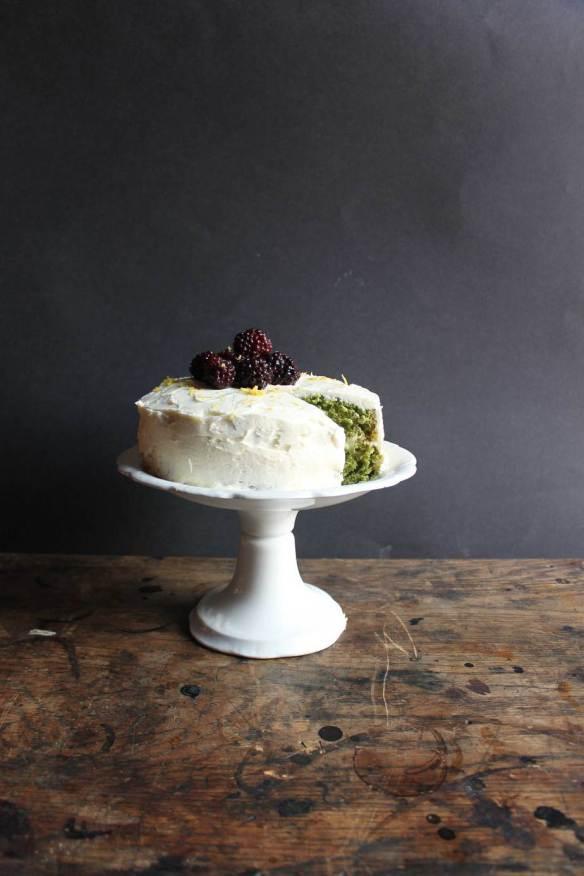 Nettle Lemon Cake