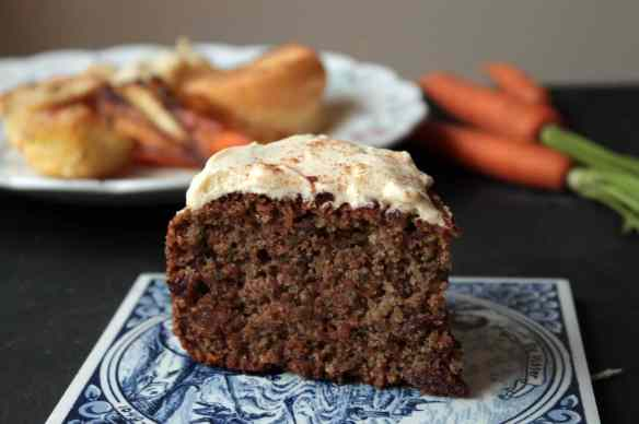 Roast Dinner Waste Cake (Maple and Cinnamon Cake with Carrot, Parsnip and Potato Peelings) | Veggie Desserts