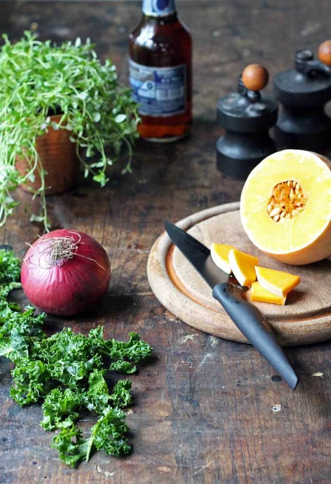 Kale and Ale Slow Cooker Stew (Vegan) | Veggie Desserts Blog