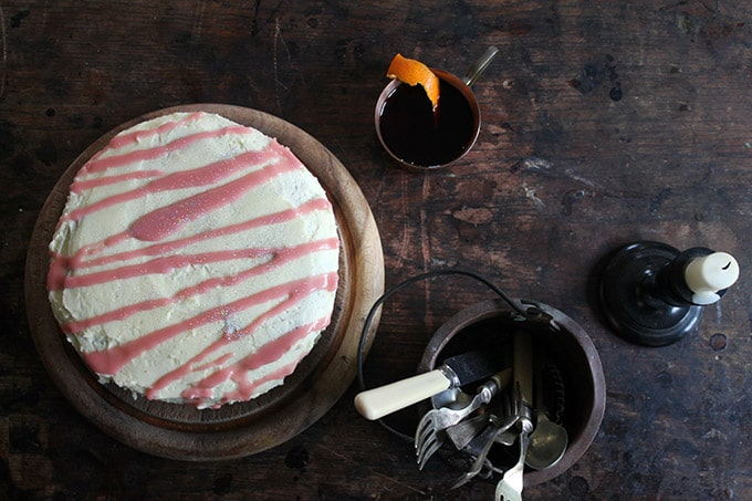 Winter Spiced Parsnip Cake with Mulled Wine Drizzle |Veggie Desserts Blog