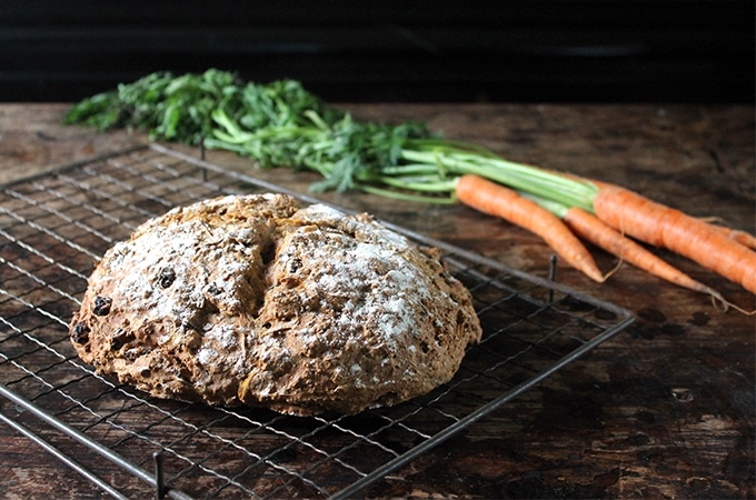 Recipe: Cinnamon Carrot Soda Bread | Veggie Desserts