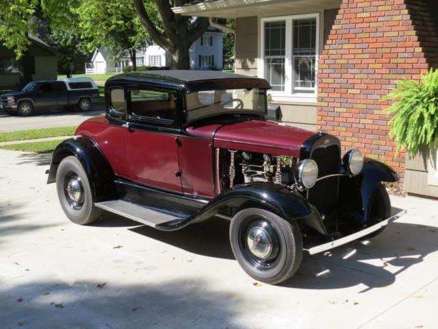 1931 Ford Model A Hot Rod Old School SCTA TROG HOP UP