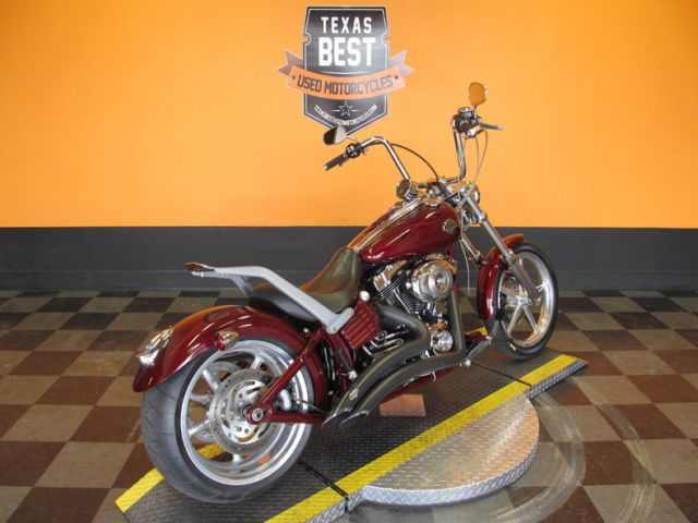 2009 Harley Davidson Rocker C Fxcwc Luggage Rack