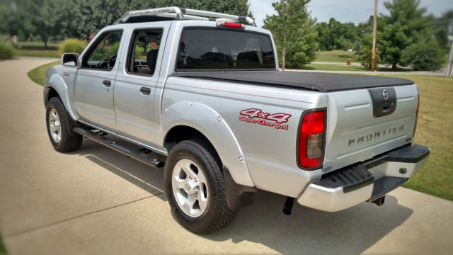 Nissan Frontier 4x4 Supercharged Comparable Submodels Toyota Tacoma