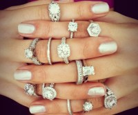 Wholesale Platinum Gold, White and Rose Gold Engagement ...