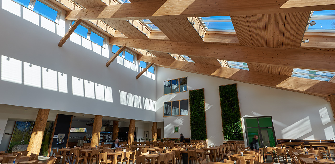 Haus 24 De De Assenburg Shopping Mall Velux Modular Skylight Cases