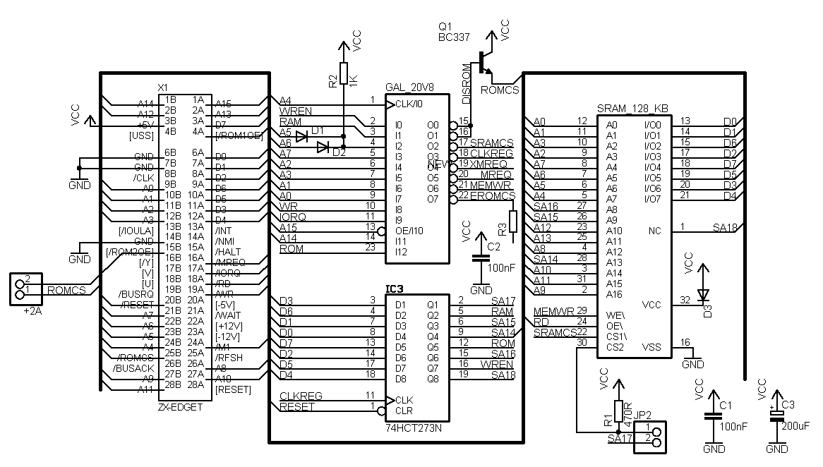 amiga mouse schematic