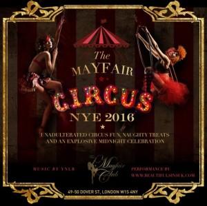 Mayfair Club New Years Eve 2016