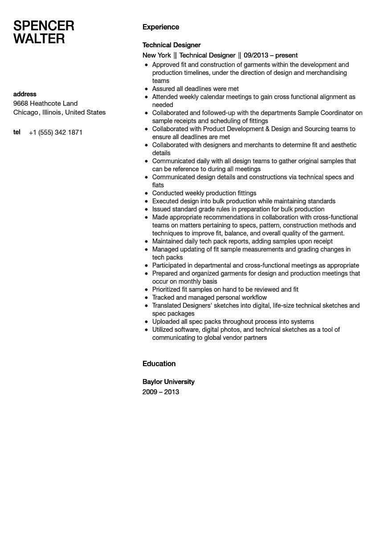 cross functional resume sample
