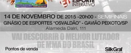 X-Fight chega à 12ª edição com semifinais de GP e Islan Galego x Geovane Santos
