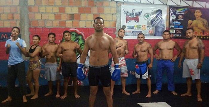 MMA - PM Fabiano Franco em treino na Alfa - foto 1 - Divulgação