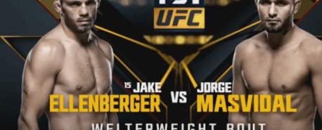 Vídeo: Luta completa – Jorge Masvidal vs. Jake Ellenberger