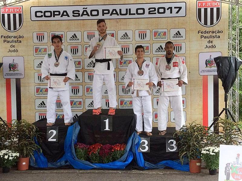 Judô - Rafael Barbosa do AM é bronze na Copa SP - foto 1 - divulgação