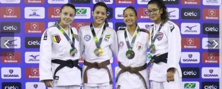 Amazonense Maria Taba é ouro no Brasileiro Sub-21 de Judô