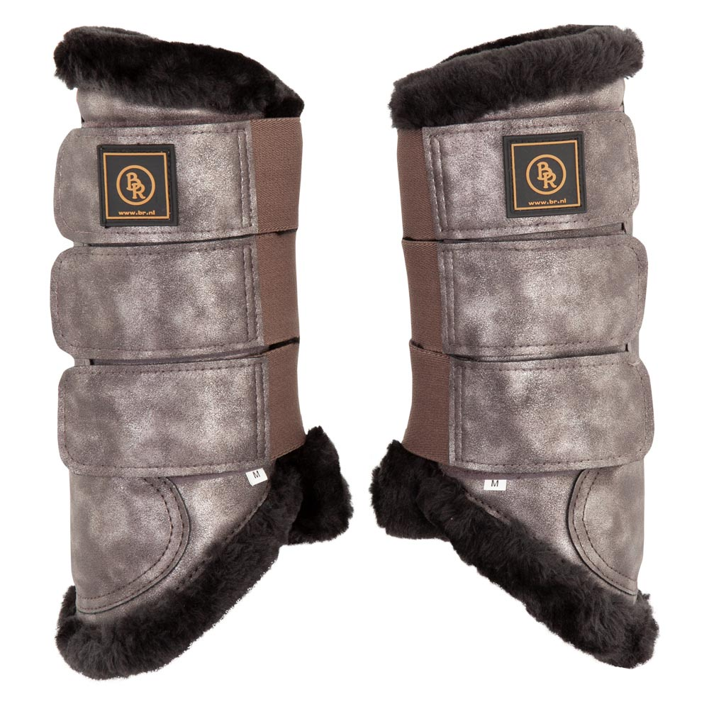 / Br Br Majestic Dressage Boots With Fur