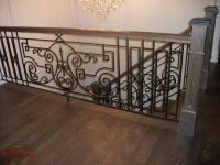 Wrought Iron Railings [interior] - Venetian Iron Designs Inc