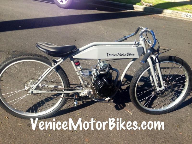Custom Motorized Bicycles, Sales, Repair, Parts, Bicycle Engine Kits