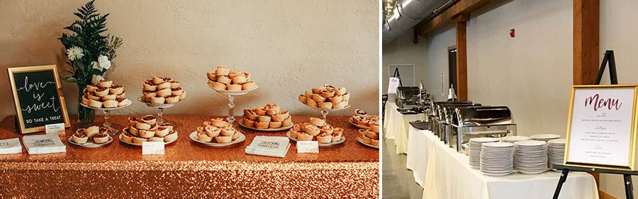 Catering at Vennebu Hill Wisconsin Dells\u0027 Area Wedding Venue