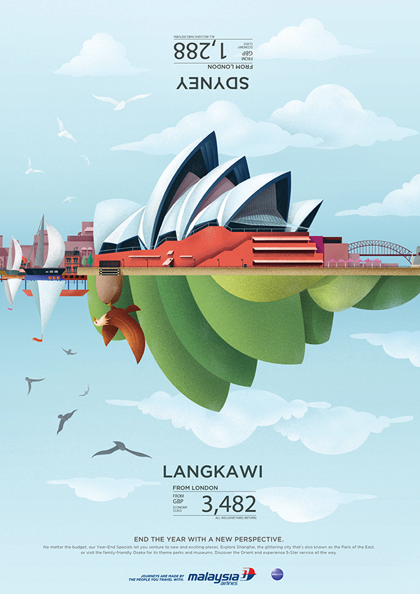 Creative Malaysia Airlines Sales Flyer Examples - Venngage Flyer