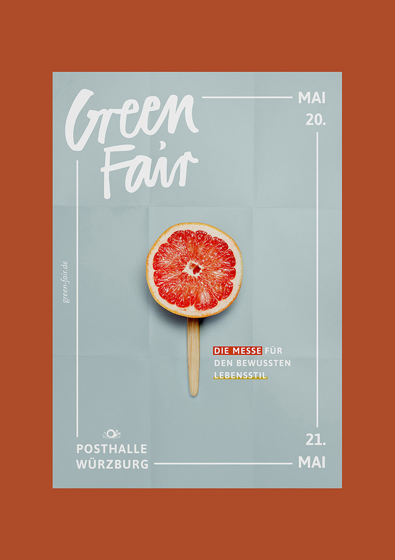 Poster Cuisine Green Fair Natural Event Poster Example Venngage Inspiration Gallery