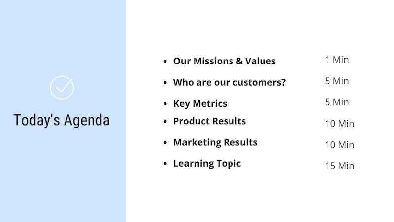 business presentation ideas topics