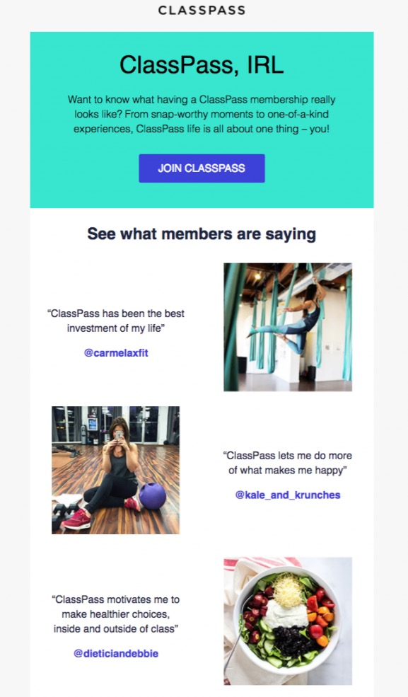 45 Engaging Email Newsletter Templates, Design Tips  Examples For